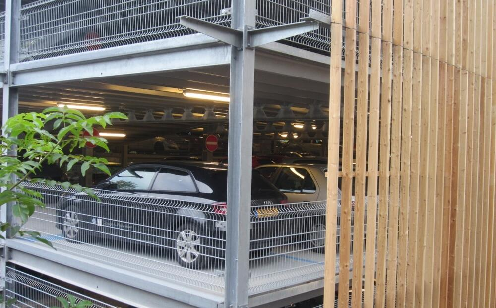 How To Construct Car Park