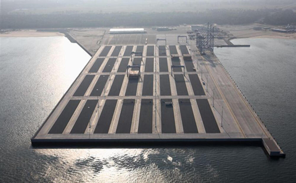 Deepwater Container Terminal Gdańsk A Combined Wall Of