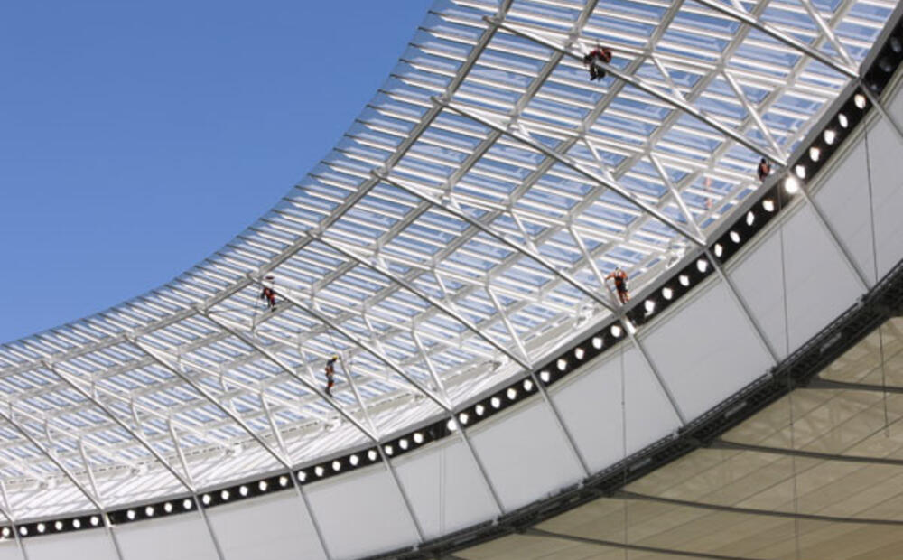 Light Steel Frame Structures Cape Town South Africa: ArcelorMittal Steel For Cape Town Stadium
