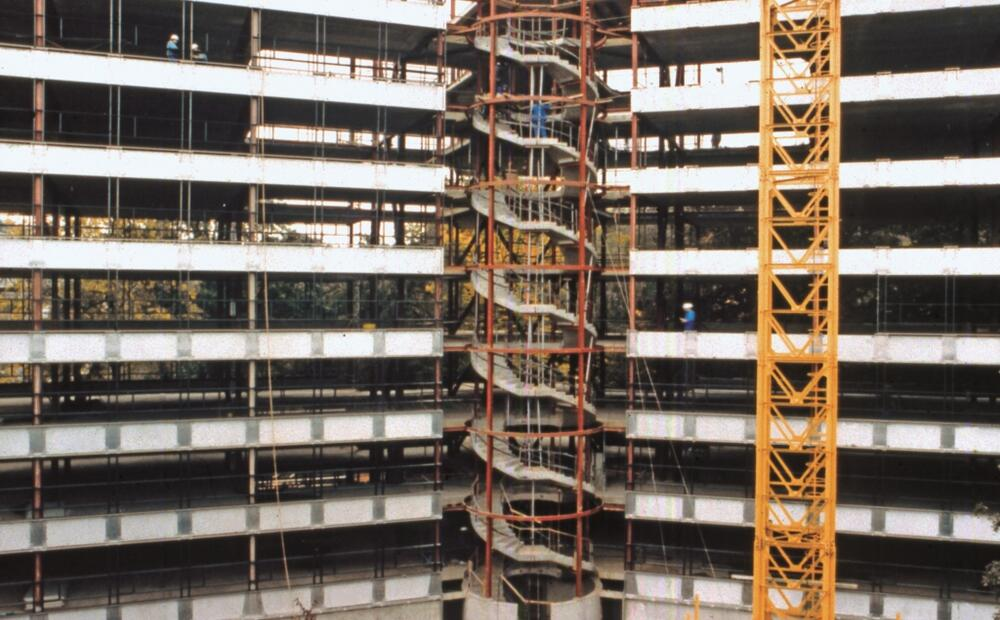 ArcelorMittal Office Building Luxembourg: A steel frame and