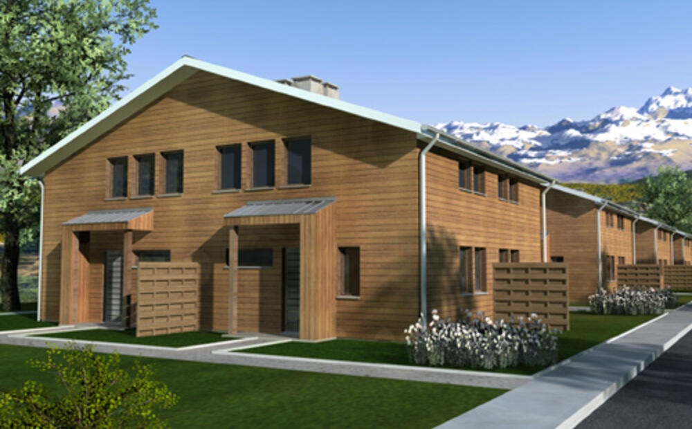 Casa buna low cost and energy efficient residential for Cost effective house building