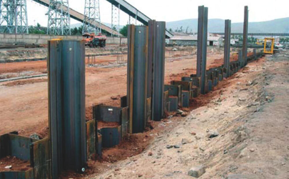Weight And Cost Saving Steel Sheet Pile Solution By