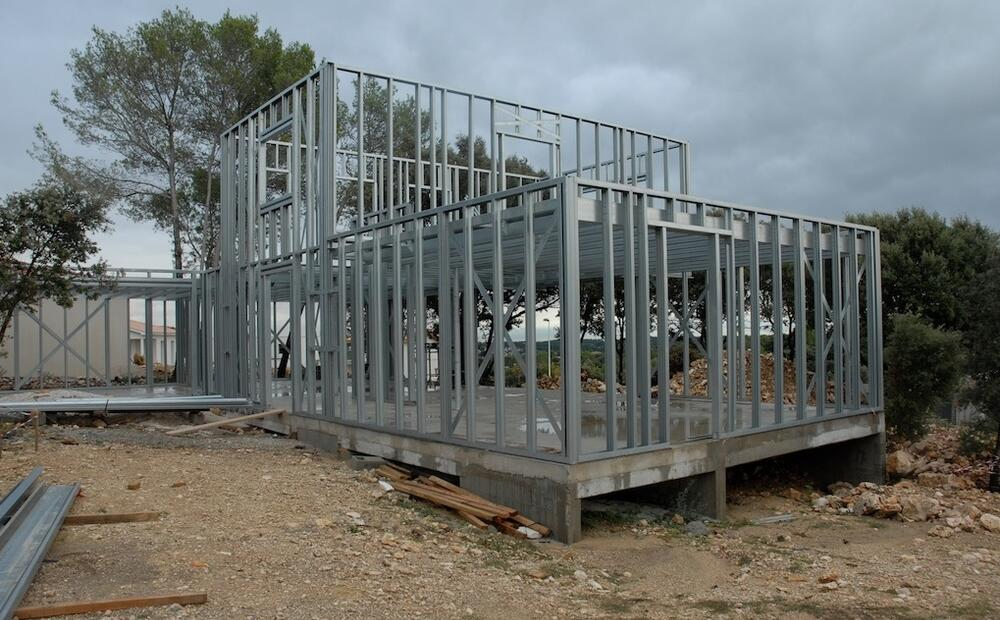 House B A Light Steel Structure For A Modern And Sustainable Individual Housing Project