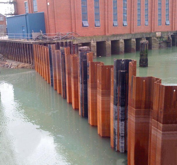 Steel sheet piles and foundation products – Constructalia