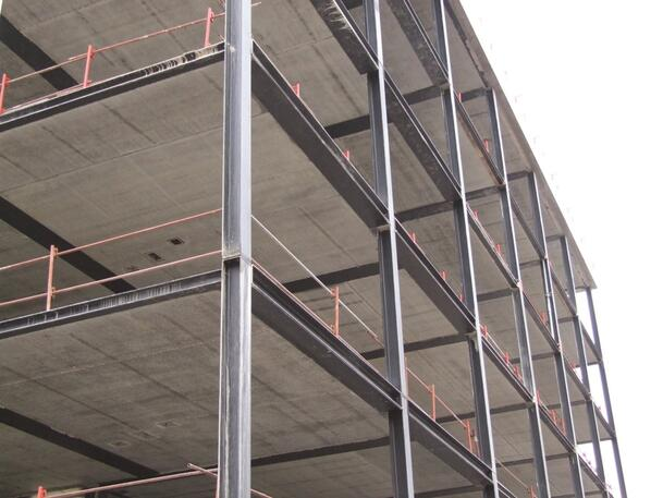 Shallow floor beams for steel construction - Constructalia