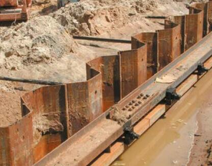 Steel Sheet Piles And Foundation Products Constructalia
